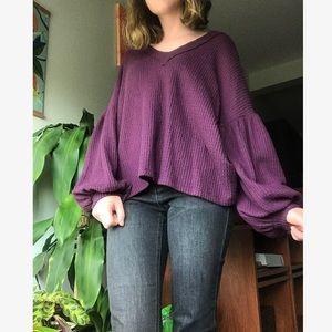Altar'd State purple sweater